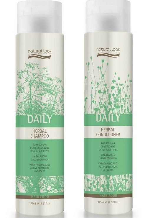 Natural Look Daily Herbal Shampoo & Conditioner