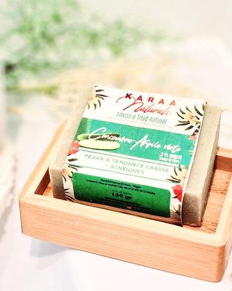 Savon - Concombre et argile verte