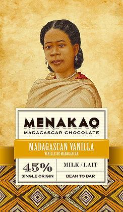CHOCOLAT AU LAIT (45% CACAO MIN) – VANILLE DE MADAGASCAR