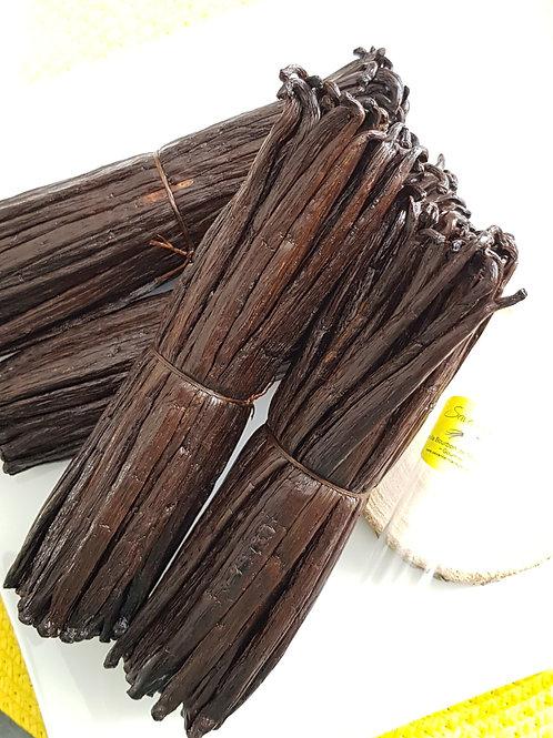Vanille Bourbon de Madagascar - Noire TK - Moyennes Gousses