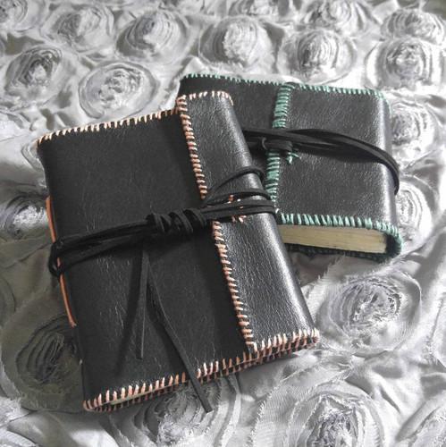 Custom Hand-bound Leather Book