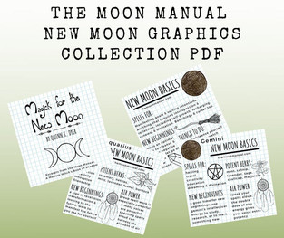 The Moon Manual New Moon Graphics Collections PDF Downloads