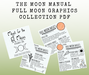 The Moon Manual Full Moon Graphics Collection PDF Downloads