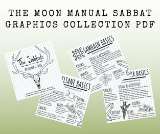 Moon Manual Sabbat Graphics Collection PDF Downloads