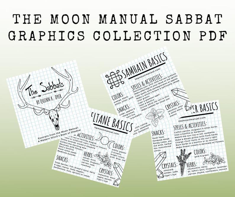Moon Manual Sabbat Graphics Collection PDF Downloads