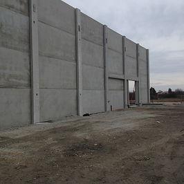 Mur coupe feu autostable