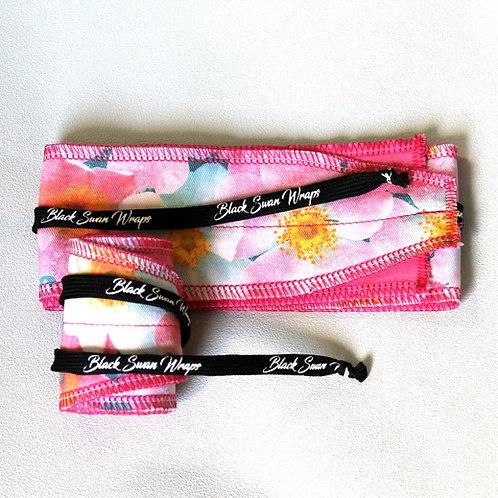 Wrap tissu Orchidées