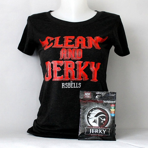 T-Shirt Femme Clean And Jerky