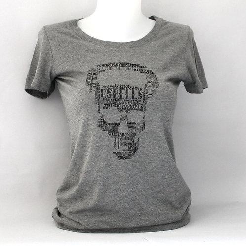 T-shirt Femme Typo