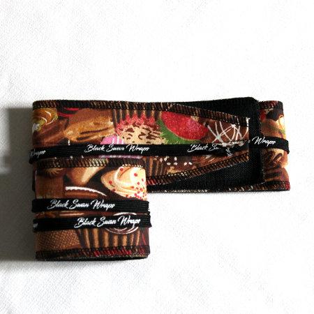 Wrap tissu choco