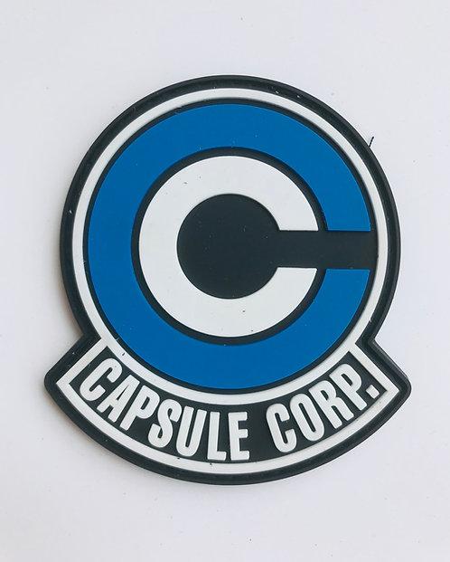 Patch Velcro PVC Capsule Corp