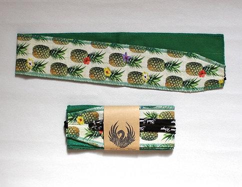 Wrap tissu Ananas