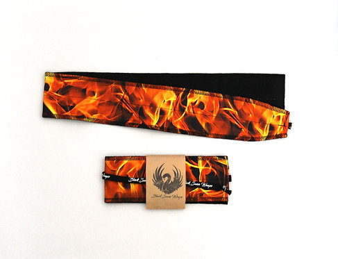 Wrap tissu Flammes
