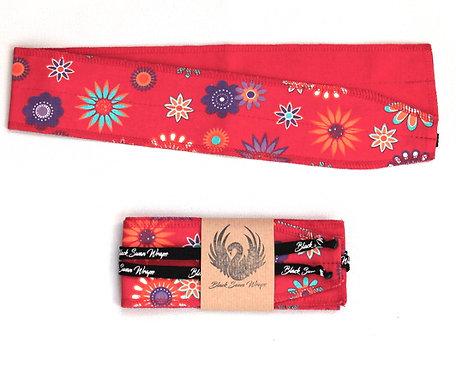 Wrap Tissu Fleurs Hippies