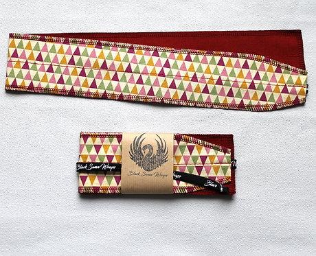 Wrap tissu Triangles multicolores