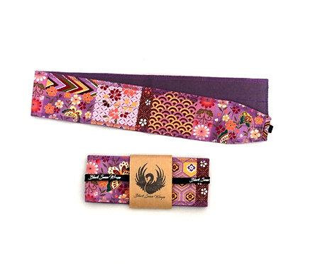 Wrap tissu Japon  fleurs