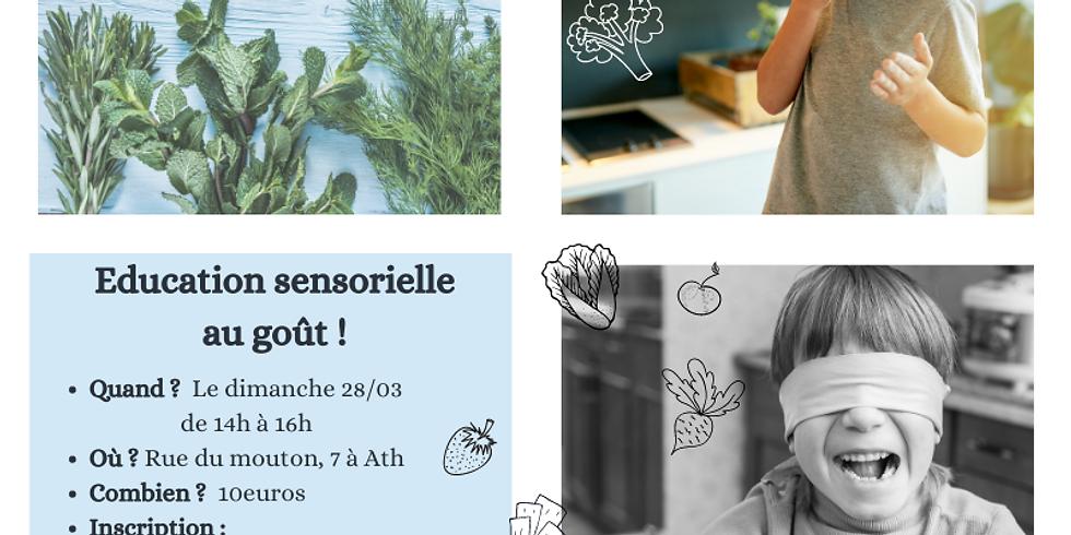 Atelier d'éducation sensorielle au goût pour les enfants de 5 à 7 ans
