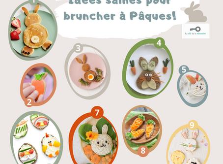 Idées saines pour bruncher à Pâques avec vos enfants