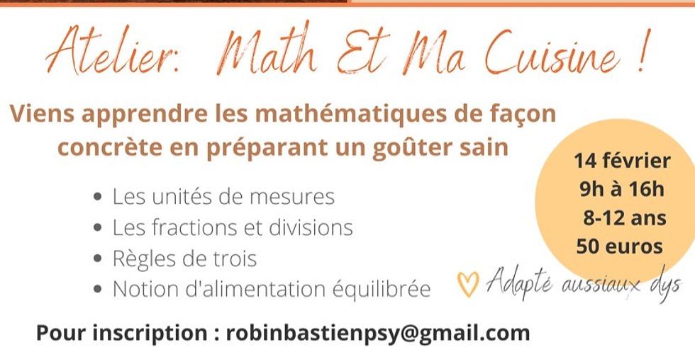 Atelier Math et Ma Cuisine