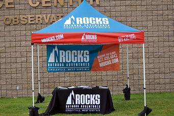 Space Race Rumpus Nelson Rocks tent