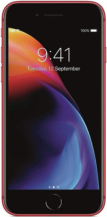 Apple iPhone 8 64GB Red (Renewed)