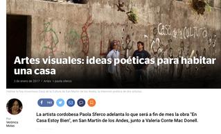 Artes visuales: ideas poéticas para habitar una casa