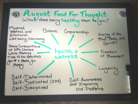 What Does Being Healthy Mean to You?