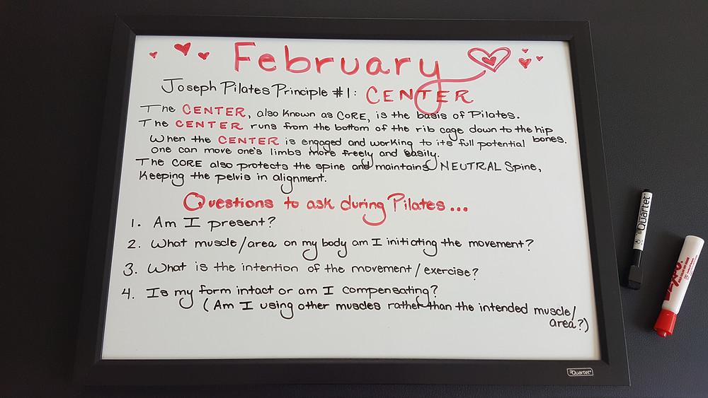 Joseph Pilates Principles & Being Present