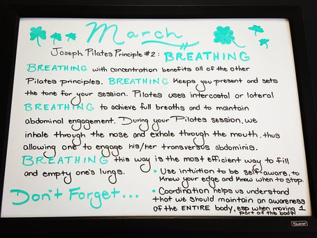 Breath and Pilates