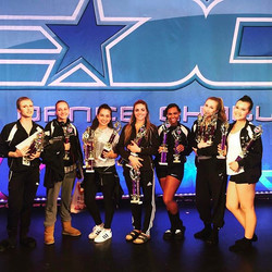 The SENIORS cleaning up at EDC! Last comp for 6 of these beauties 😢❤️🏆