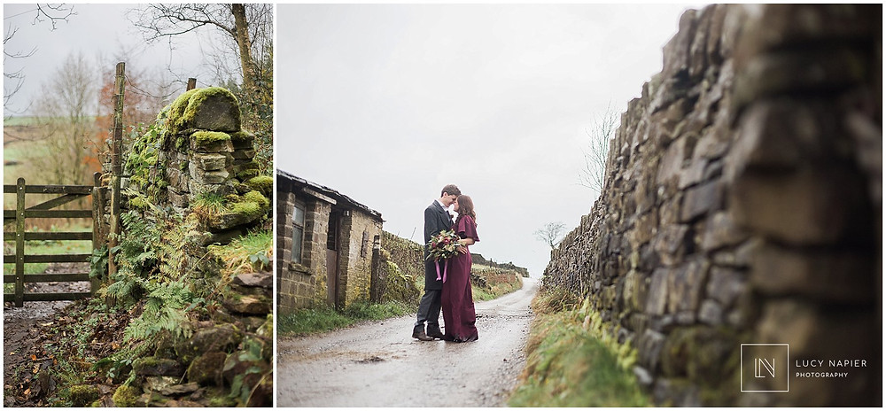 emily bronte styled shoot Ponden Hall