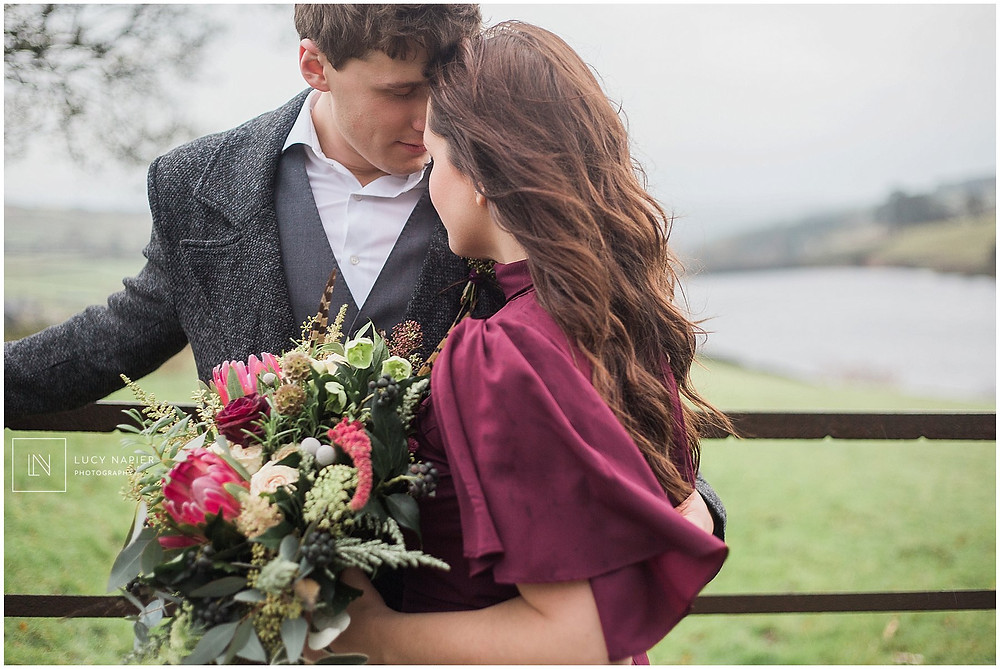 wild elopement photography couples portraits