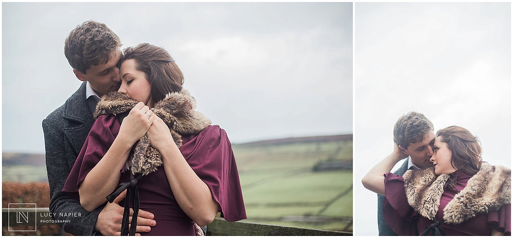 light and airy couples portraits
