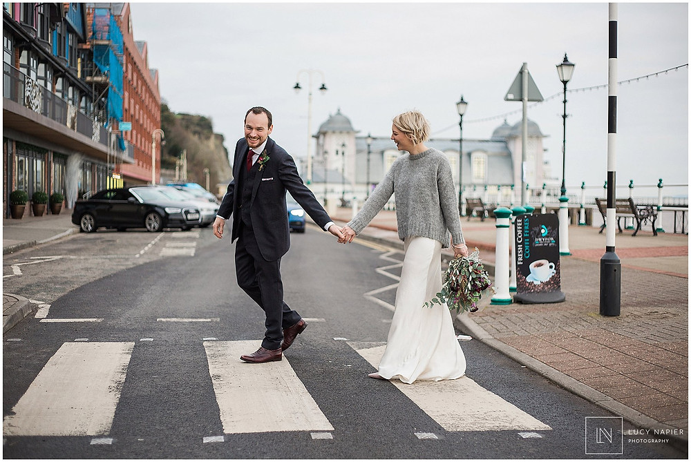 Penarth wedding photography couples portraits