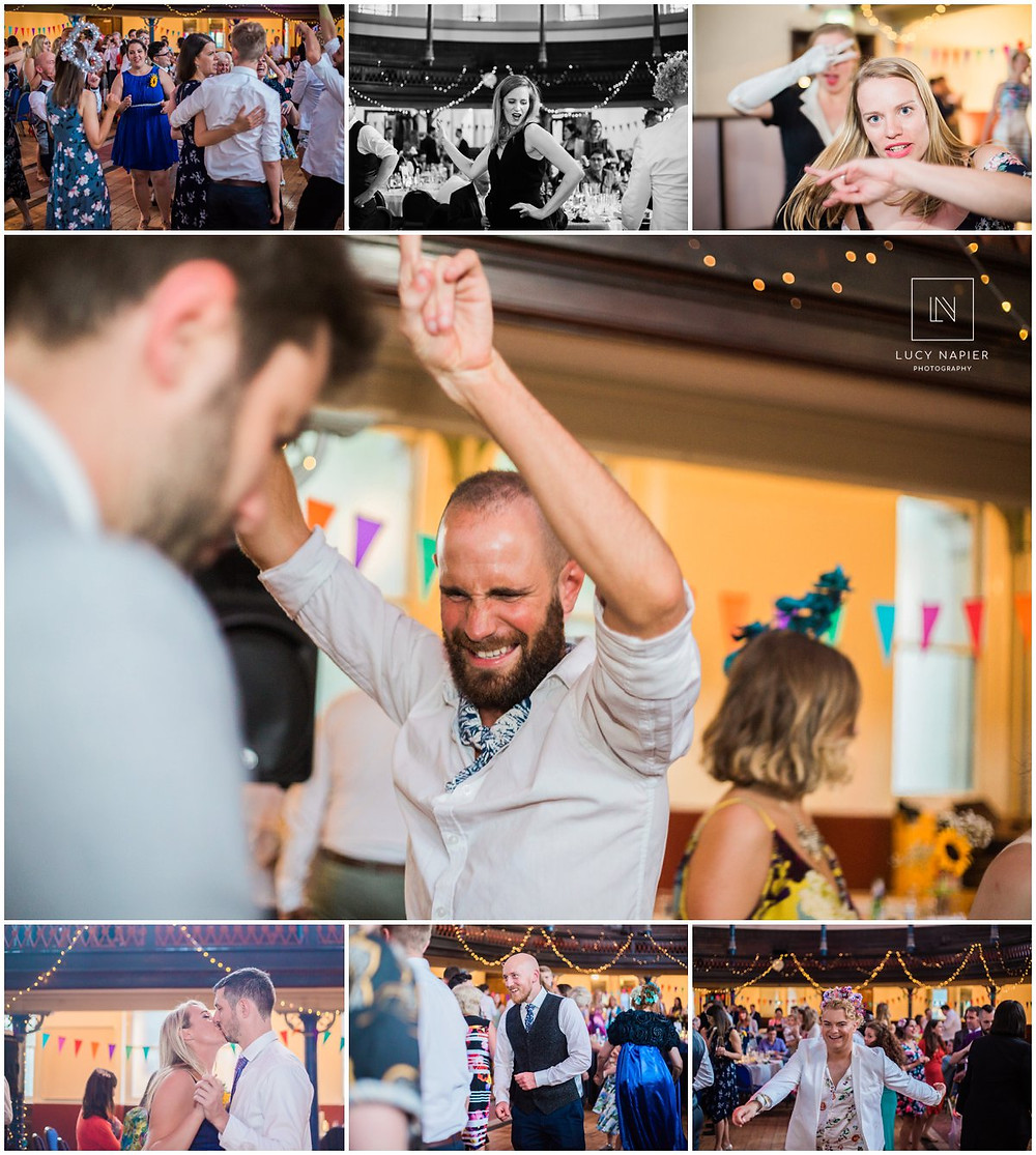 guests dance at the round chapel London
