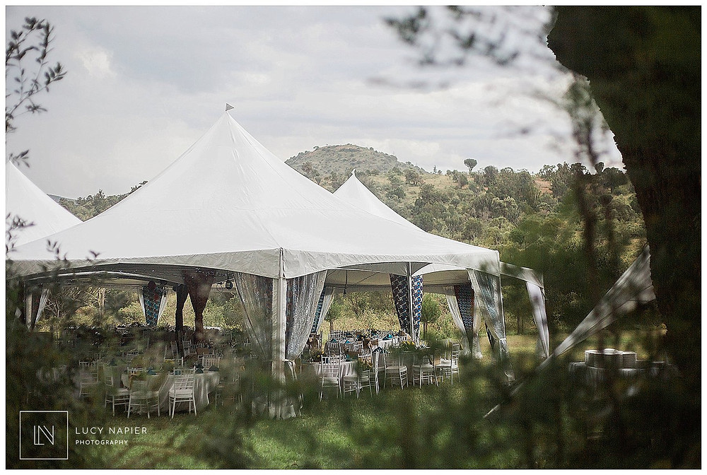 Wayfarer Events Kenya Marquee