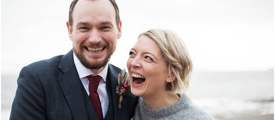AN INTIMATE SEASIDE CARDIFF WEDDING - CERYS AND NATHAN