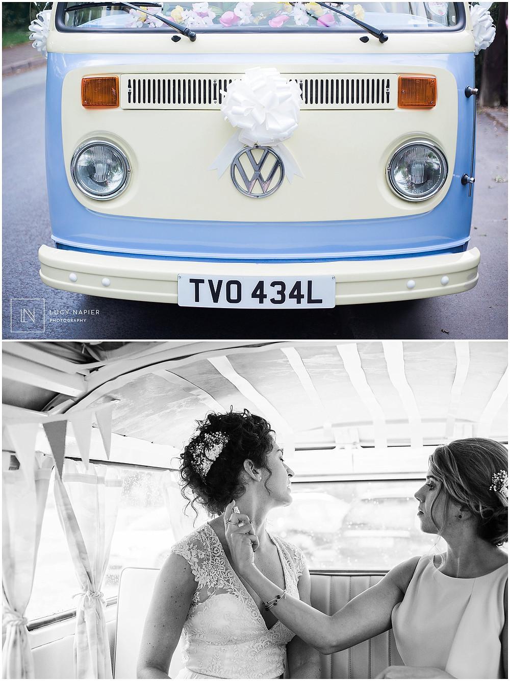 Bruce the vintage Volkswagen Camper van