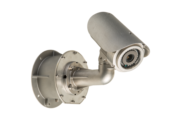 Easy to install IP CCTV camera designed for use in aggressive environmental conditions such as maritime vessels, naval surface ships, extreme arctic environments and renewable energy platforms.