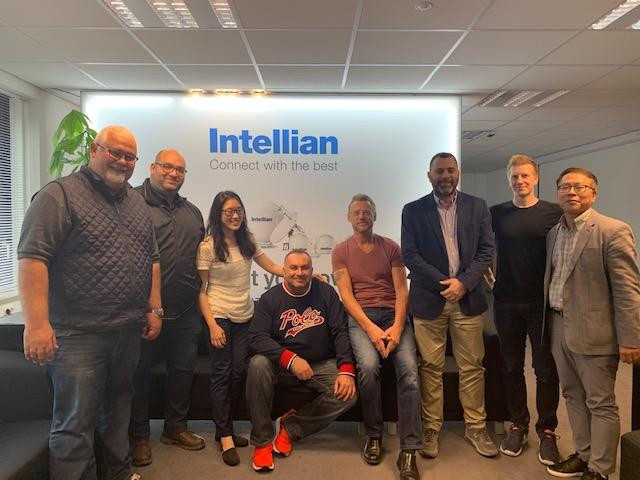 European Tour of Monarch Telecom and 3 mushrooms. Visiting Intellian's team in Rotterdam