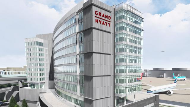 SFO Grand Hyatt Hotel