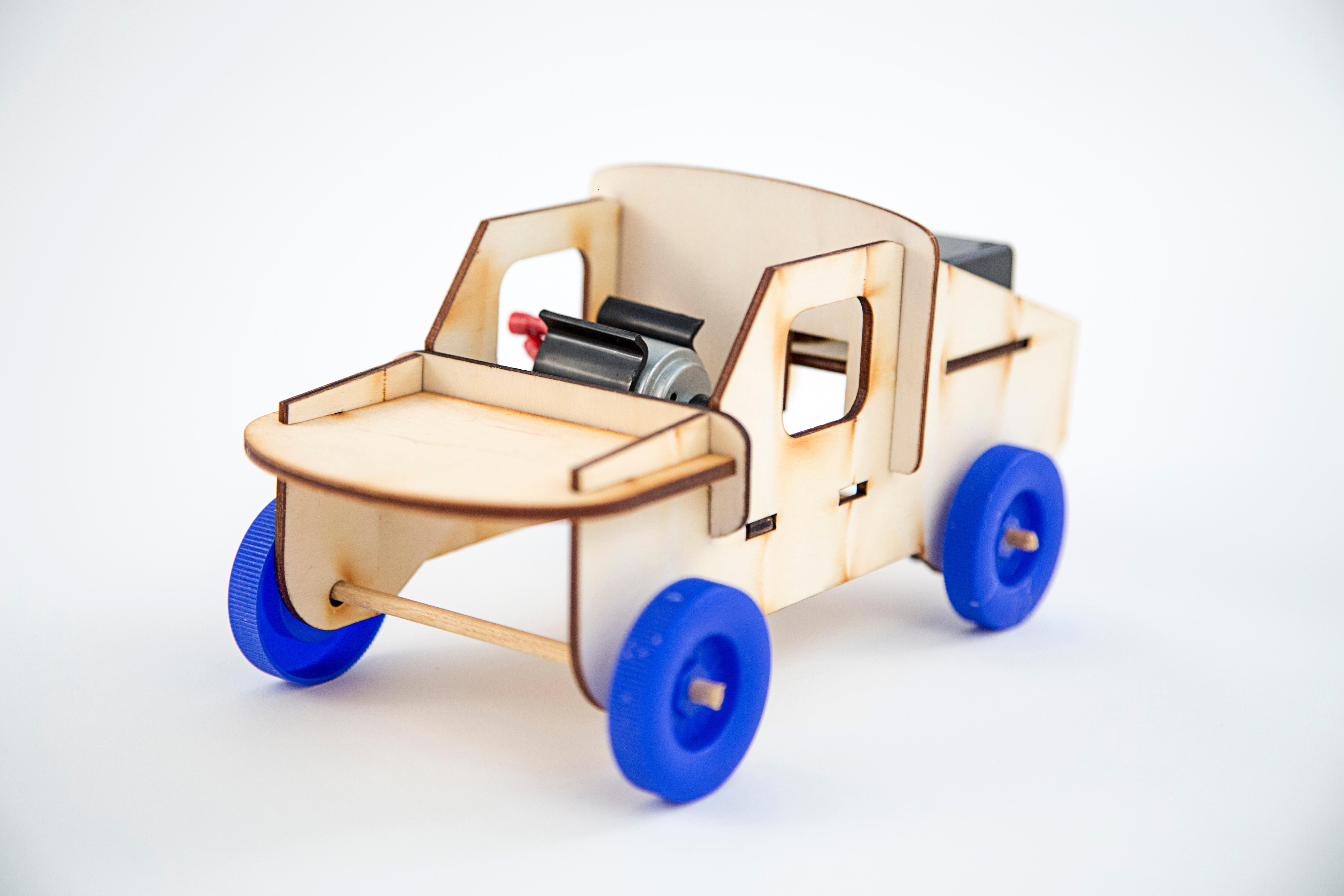 S.T.E.M. Battery-Powered Car