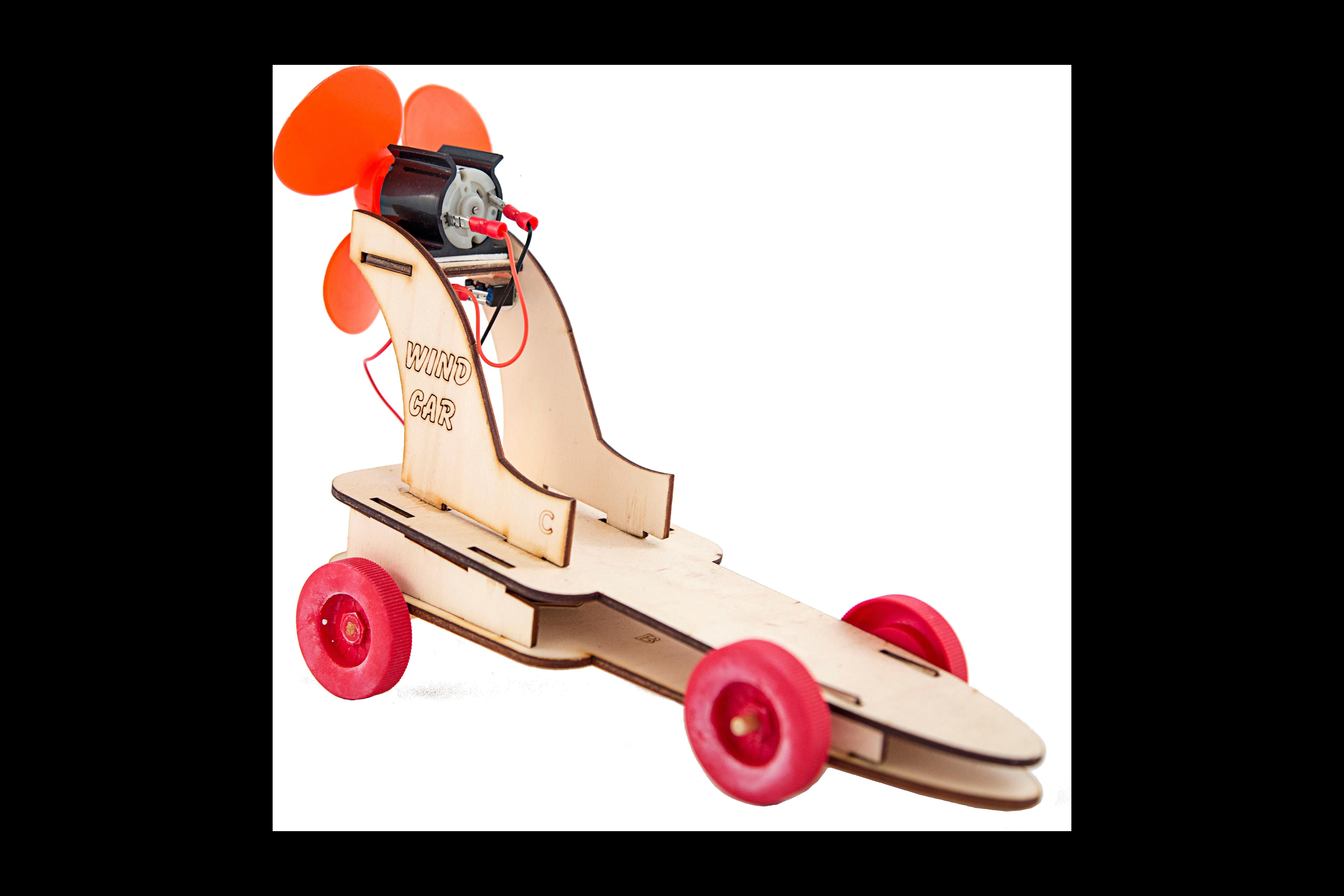 S.T.E.M. Fan-Powered Car