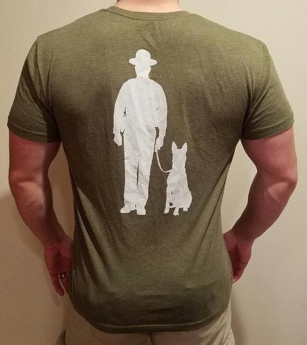 Men's OD Green Workout Shirt