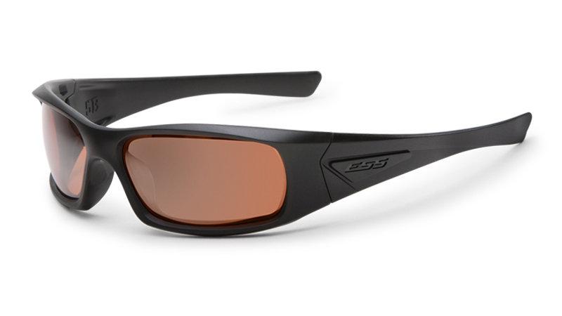 5B (Black Frame Mirrored Copper Lenses)