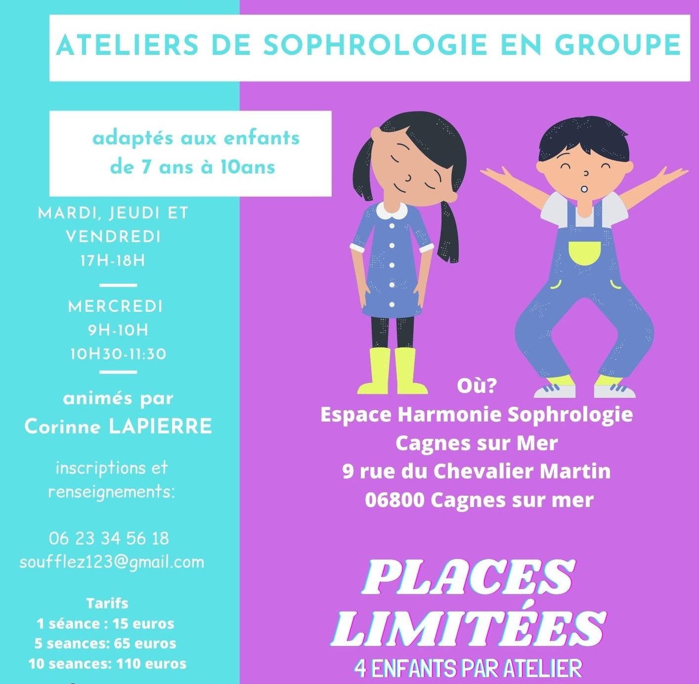 ATELIERS SOPHROLOGIE ENFANTS