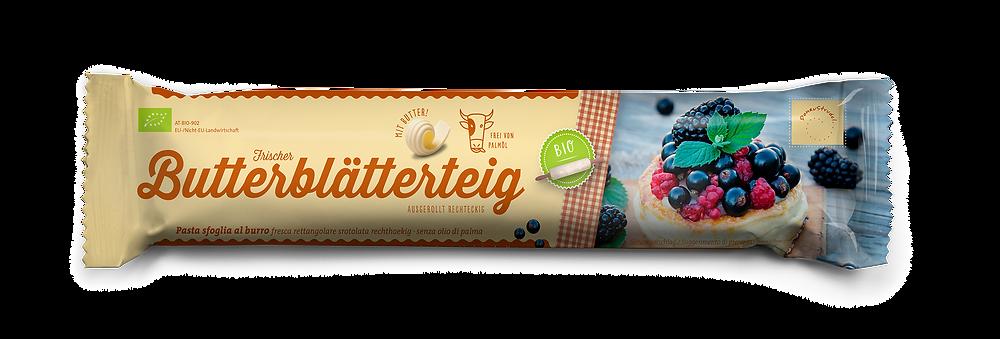 Butterblätterteig Donaustrudel