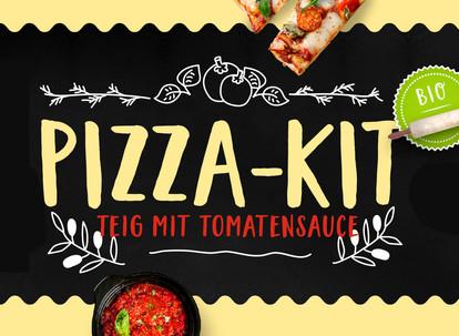 """Wenn's schnell gehen muss … unser """"Pizza-Kit"""""""