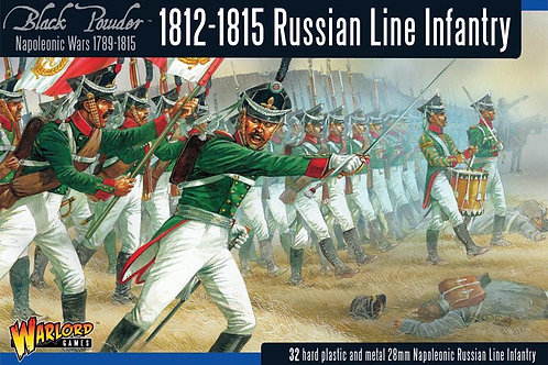 Napoleonic Wars: Russian Line Infantry (1812-1815)