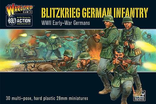 Blitzkrieg Deutsche Infanterie Plastikbox Set